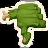 Thumbs Down - Emoticon - Fortnite