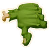 Thumbs Down - Emoticon - Fortnite