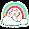 Cloud Cat - Emoticon - Fortnite