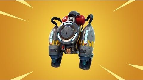 Jetpack - nouvel object temporaire pour Battle Royale!
