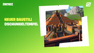 Fortnite Kreativmodus Dschungeltempel-Fertigobjekte