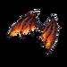 Molten Valkyrie Wings - Back Bling - Fortnite