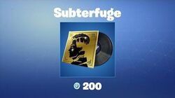 Subterfuge - Musique