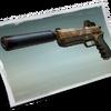 Suppressed Pistol - Loading Screen - Fortnite