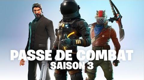 Annonce du Passe de Combat de la Saison 3 (Fortnite Battle Royale)