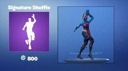 Shuffle Inimitable - Emote