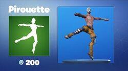 Pirouette - Emote