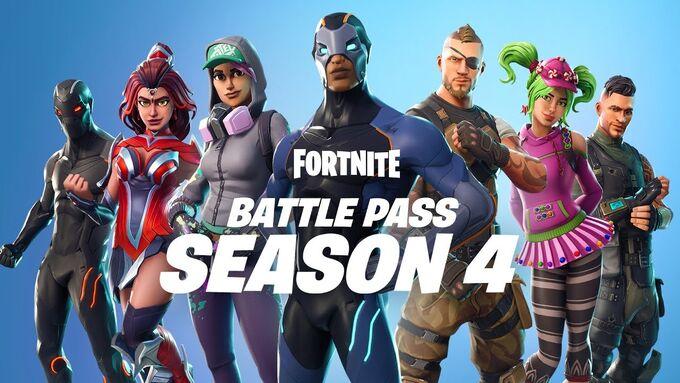 Battle Pass Season 4 - Fortnite