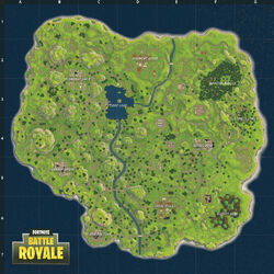 Fortnite Battle Royale Karte Release