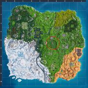 Fortnite S7 Map Dusty Divot