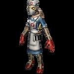 Carcasse infirmière