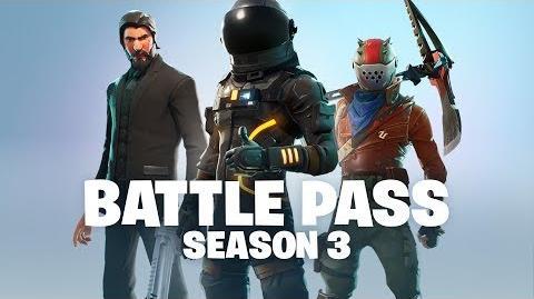 Battle Pass Season 3 Announce (Battle Royale)
