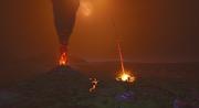 Fortnite Nexus Event Vulkanausbruch Einschlag Retail Row