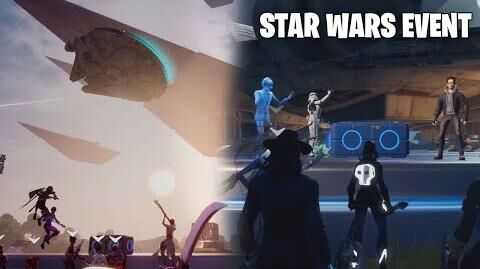 Fortnite Star Wars Full Event (Best View - No Commentary)