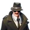 Noir - Outfit - Fortnite
