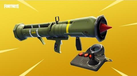 Annonce du missile guidé (Fortnite Battle Royale)