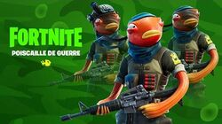 Court-métrage de Fortnite - Poiscaille de Guerre