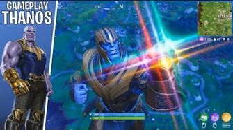 THANOS (Gameplay Fortnite)