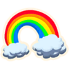 Rainbow - Emoticon - Fortnite