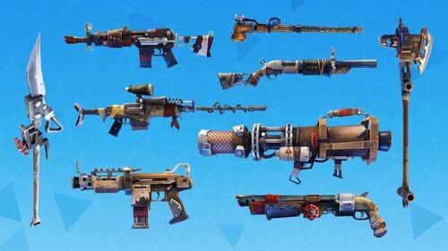 Armes rafistolées