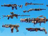 Armes rafistolées (Sauver le Monde)