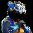 Dragon de Fumée (Bleu)