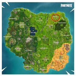 Fortnite Battle Royale Karte Risky Reels