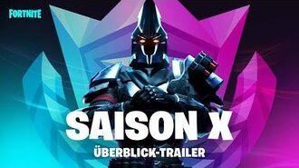 Fortnite – Übersichts-Trailer zu Saison X