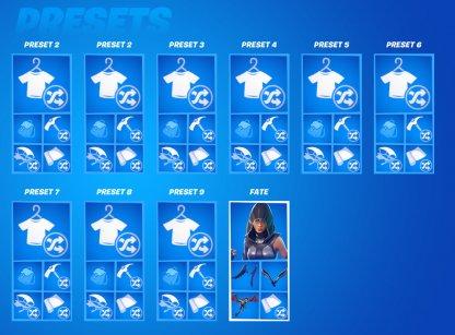 Locker Presets 10 - Save The World - Fortnite