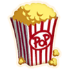 Popcorn - Emoticon - Fortnite