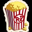Popcorn - Emoticon - Fortnite