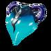 Blue Heart - Back Bling - Fortnite