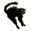 Black Cat - Emoticon - Fortnite