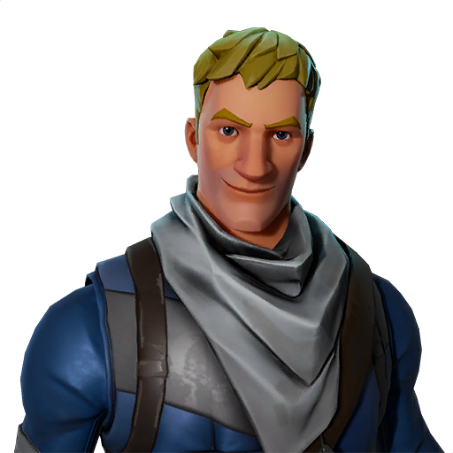 jonesy is a character in fortnite save the world that represents the soldier class he is also used for one of the randomized default avatars in battle - fortnite default character png