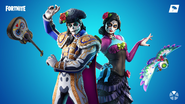 Fortnite Muertos Set Promo