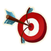 Bullseye - Emoticon - Fortnite