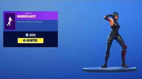 FORTNITE NEW EMOTE - ENSORCELANTE (Nouvelle Danse)