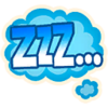 Zzz - Emoticon - Fortnite
