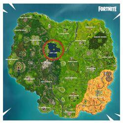 Fortnite Battle Royale Karte Loot Lake