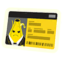 Badge Banane