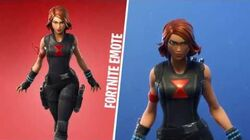 BLACK WIDOW (Fortnite X Marvel)