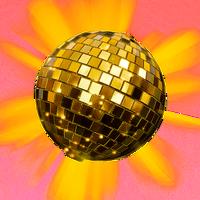 Boule Disco Dorée