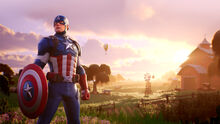 Captain America - Promo - Fortnite