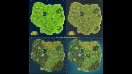 Tilted Towers Map