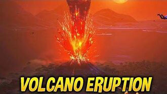 Fortnite MAP DESTROYED..! *NEW* VOLCANO ERUPTION + UNVAULTED LIVE EVENT!
