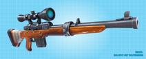 Fortnite Bullseye mit Zielfernrohr