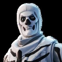 Soldat au Crâne (Blanc Inversé)