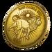 Gold Token - Back Bling - Fortnite