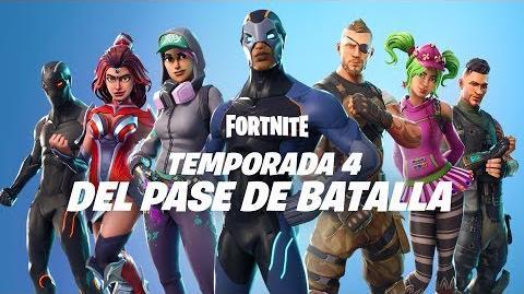 PASE DE BATALLA TEMPORADA 4 YA DISPONIBLE