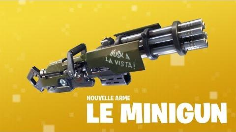 Découvrez le MINIGUN (Fortnite Battle Royale)